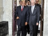 President Jacob Zuma walking with President of EU Council Mr Herman van Rompuy.