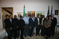 Visit by Parliamentary Office Bearers