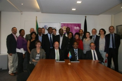 S&T Minister, Mr Derek Hanekom, visits Brussels